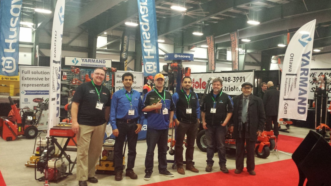 Yarmand- Ottawa-Green-Trade-Expo-2015